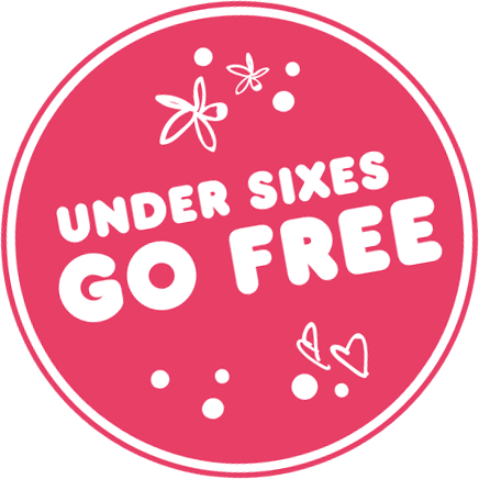 Under sixes go free